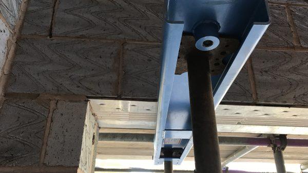 Prop Pal needles wall support external wall