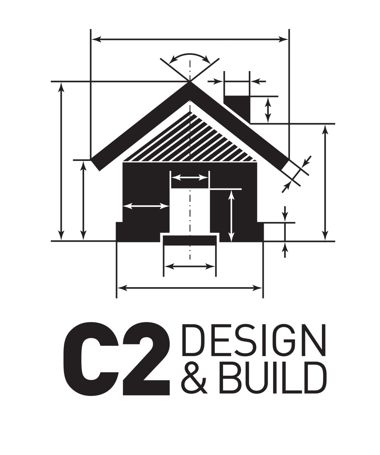 c2 design and build logo
